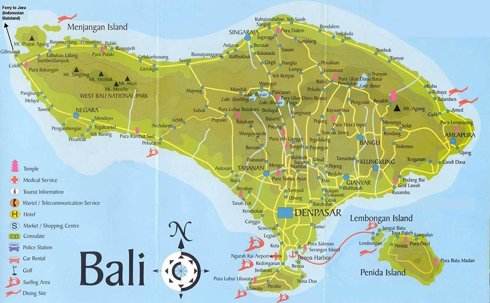 Carte Bali Surf.Ma To Do List A Bali Destination Los Angeles